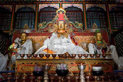 Tsedang, Tibet.