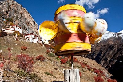 Drigung Valley, Tibet.