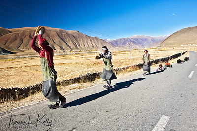 Khampa, The Tibetan Nomads. Tibet.