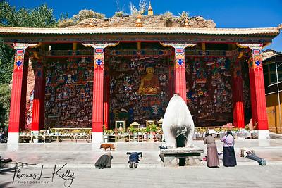 Chokpori, Tibet.