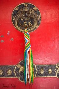 Hotel St. Regis in Lhasa. Tibet.