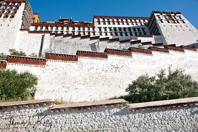 Potala Palace in Lhasa. Tibet.