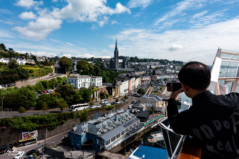 Cobh, Irleand from Cruise Ship