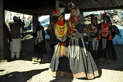 Dances evoking an amorous state of being, during the Biramor Winter Solstice ceremony. Chitral, Pakistan.