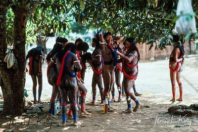 Kayapo Indians of Brazilian Amazon