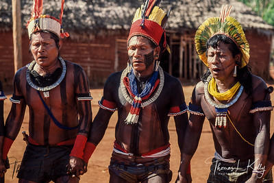 Kayapo Indians of Brazilian Amazon