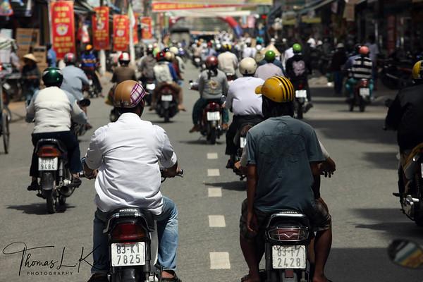 Street of Soc Trang Province