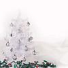 High key Christmas Tree