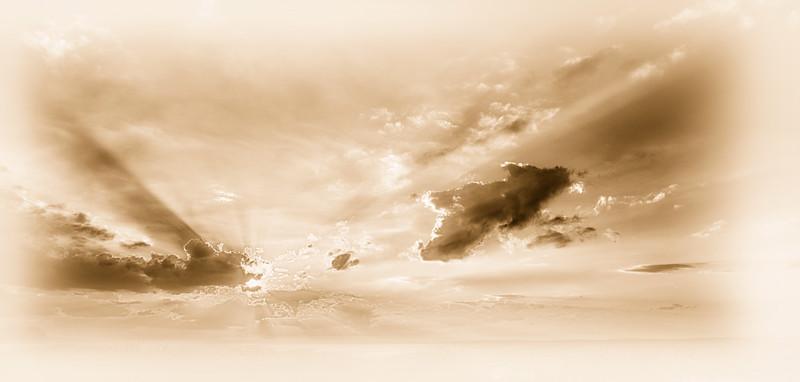"ETC-3047  ""Sunbeams in Sepia"""