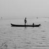 The Spice Coast cruise on the Kavannar River. Kerala, South India.
