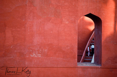 Jantar Mantar Observatory. New Delhi, India.