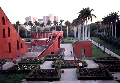 Jantar Mantar Observatory. New Delhi, India.