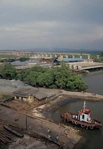 At the port of Mandavi river.