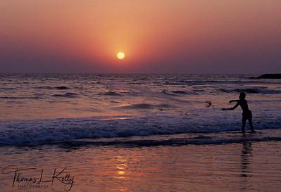 Anjuna beach.