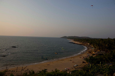 Situated eight kilometers west of Mapusa, Anjuna beach is the most happening of all beaches, one rather say its the mother of all beaches in Goa. India.