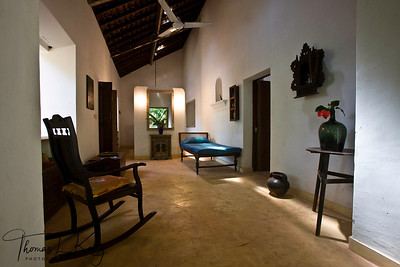 Thomas Kelly's house in Goa. India
