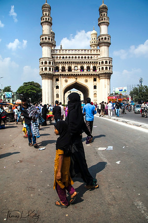 Charminar in Hyderabad.