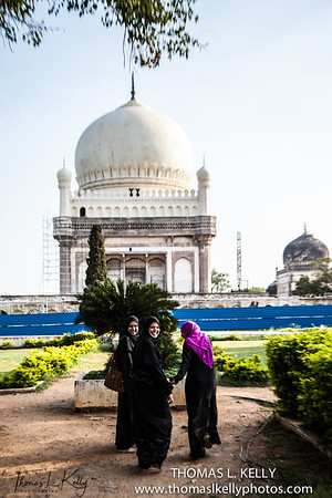 Qutb Shahi Heritage Park. Hyderabad, India.
