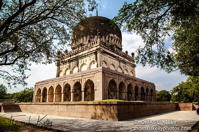 Qutab Sahi Heritage Park. Hyderabad,, India.