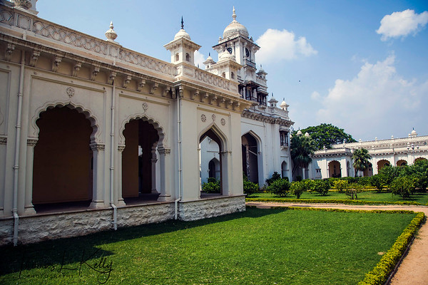 Chowmahalla Palace in Hyderabad. India.
