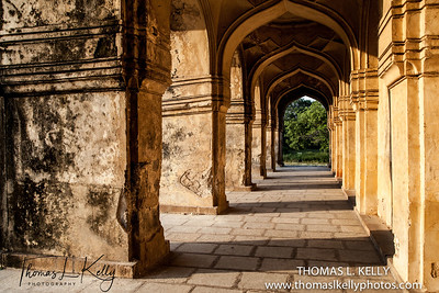 Qutb Shahi Heritage Park. Hyderabad, India.