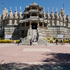 Jain Temple, Jodhpur : This renowned Jain temple at Ranakpur is dedicated to Adinatha. The dating of this temple is controversial but it is largely considered to be anywhere between the late 14th to mid‐15th centuries. Inspired by a dream of a celestial vehicle, Dhanna Shah, a Porwad, is said to have commissioned it, under the patronage of Rana Kumbha, then ruler of Mewar. The architect who oversaw the project is said to have been named Deepaka. There is an inscription on a pillar near the main shrine stating that in 1439 Deepaka, an architect constructed the temple at the direction of Dharanka, a devoted Jain. This temple was nominated as one of the top 77 wonders in a contest for the new seven wonders of the world.