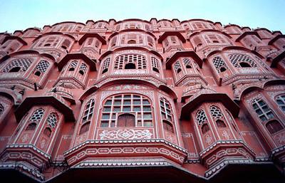Pink Palace. Jaipur, India.