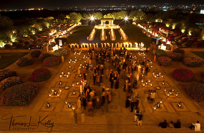 Umaid Bhawan Palace courtyard.