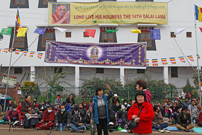Long Live His Holiness The 14th Dalai Lama. Kalachakra Initiation in Bodhgaya, India. (Jan-2012)