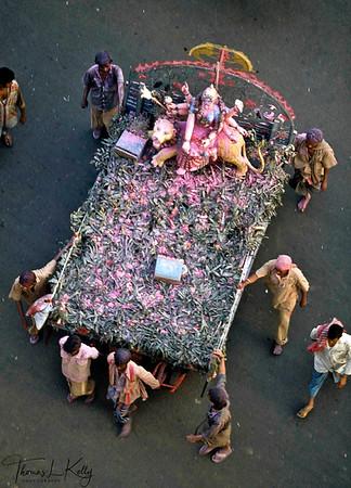 Durga puja. Kolkata, India