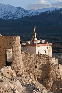 Shey Palace in Ladakh, India.