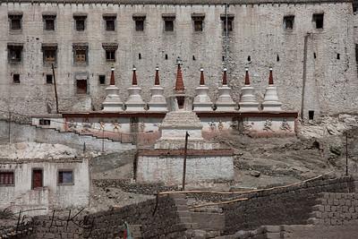 Thiksey Monastery. Ladakh, India.