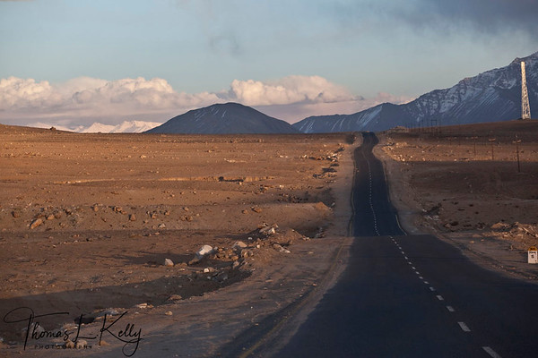 Recently pitched road on the way to Alchi. Ladakh, India.