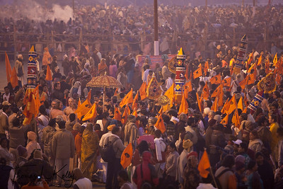 Kumbha Mela in Allahabad, India.