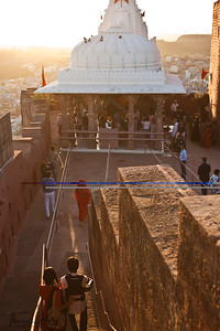 Mehrangarh Fort in Jodhpur. Rajasthan, India.
