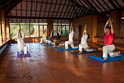 Swaswara has extensive Yoga, Pranayama and meditation facilities, with individual attention from qualified yoga teachers. And it also has an ayurvedic centre too, where one can try out a variety of massages and other therapies. Karnataka, india.