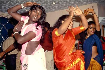 Contestants performing @  Prakriti Sahodaran-sponsored, drag beauty pageant, Aravan Temple Festival, Villupurum , South India.