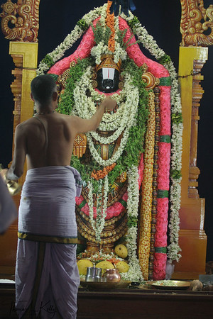 Stone idol of Lord Balaji/Venkateshwor.