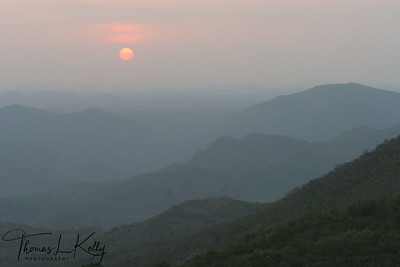 Bird eye view of overall Tirupati.