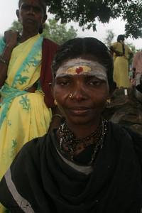 Devotees at the  Karttika Deepam festival.