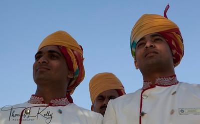 The Umaid Bhawan Palace in Jodhpur. Rajasthan, India.
