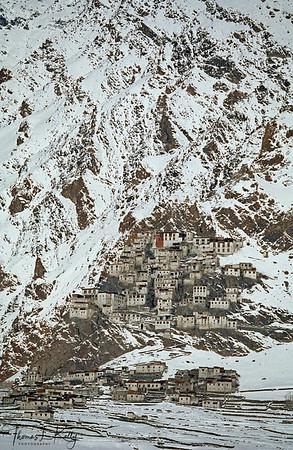 Kharsha Monastery.