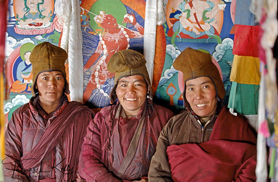 At the heart of Zanskaris culture is Tibetan Buddhism, though local superstitions have been added to the traditional canon of beliefs. Zanskar, India.