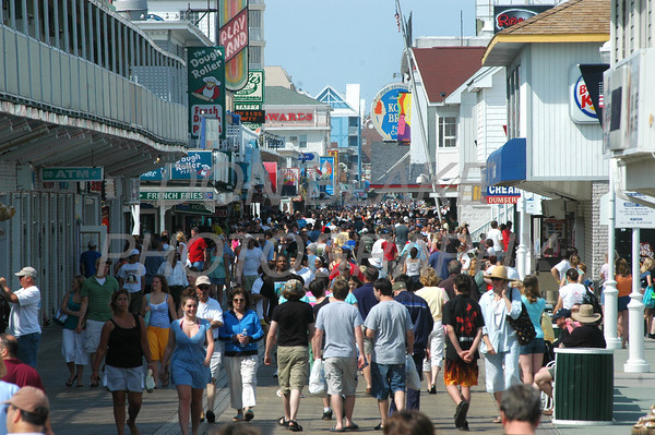 The boardwalk in Ocean City. The Dialog/Don Blake