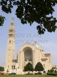 Basilica of the National Shrine of the Immaculate Conception in Washington, DC.