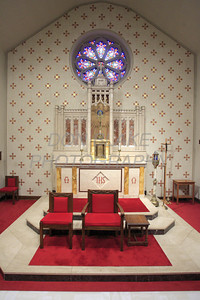 The alter at St. Joseph Church on French Street. The Dialog/Don Blake
