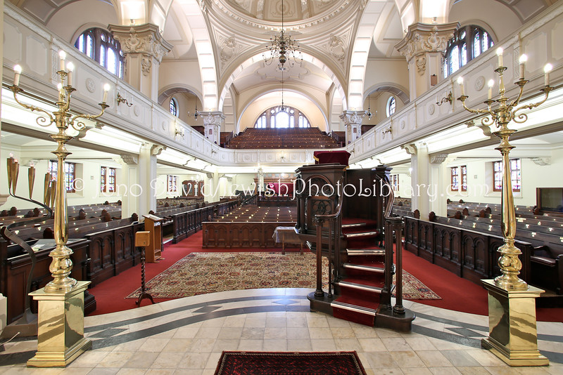 ZA 4461  The Gardens Shul, also known as the Great Synagogue or the Mother Synagogue, is home to the Cape Town Hebrew Congregation, the oldest in South Africa, established in 1841  Cape Town, South Africa