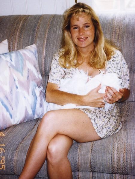 Lisa with Paul 1995