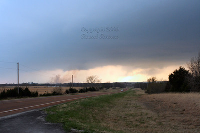 Northeast Oklahoma Wall Cloud North Of Tulsa