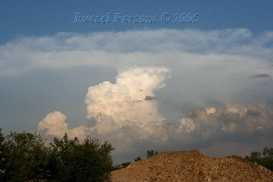 Looking Southeast From East Of Webb City, Missouri At A Supercell Thunderstorm